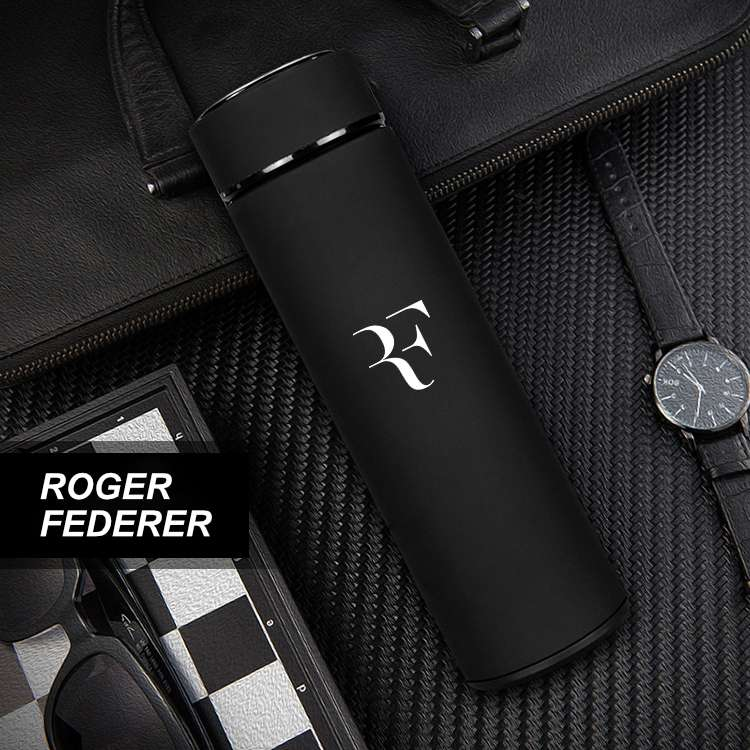 Federer Stainless Steel Tennis Thermos Mugs
