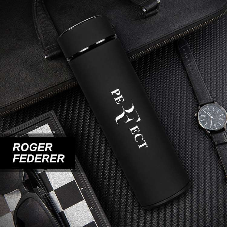 Federer Perfect Stainless Steel Tennis Thermos Mugs