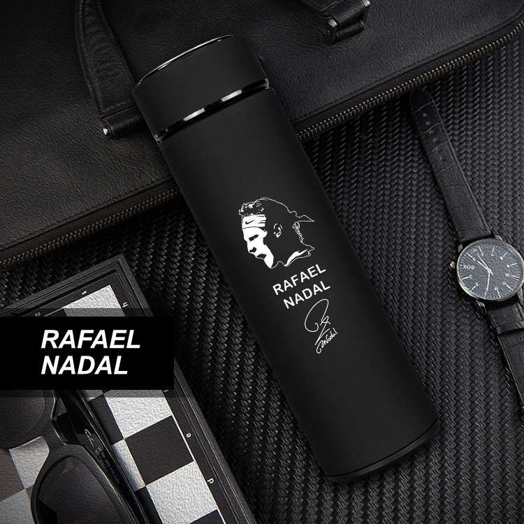 Nadal Stainless Steel Tennis Thermos Mugs