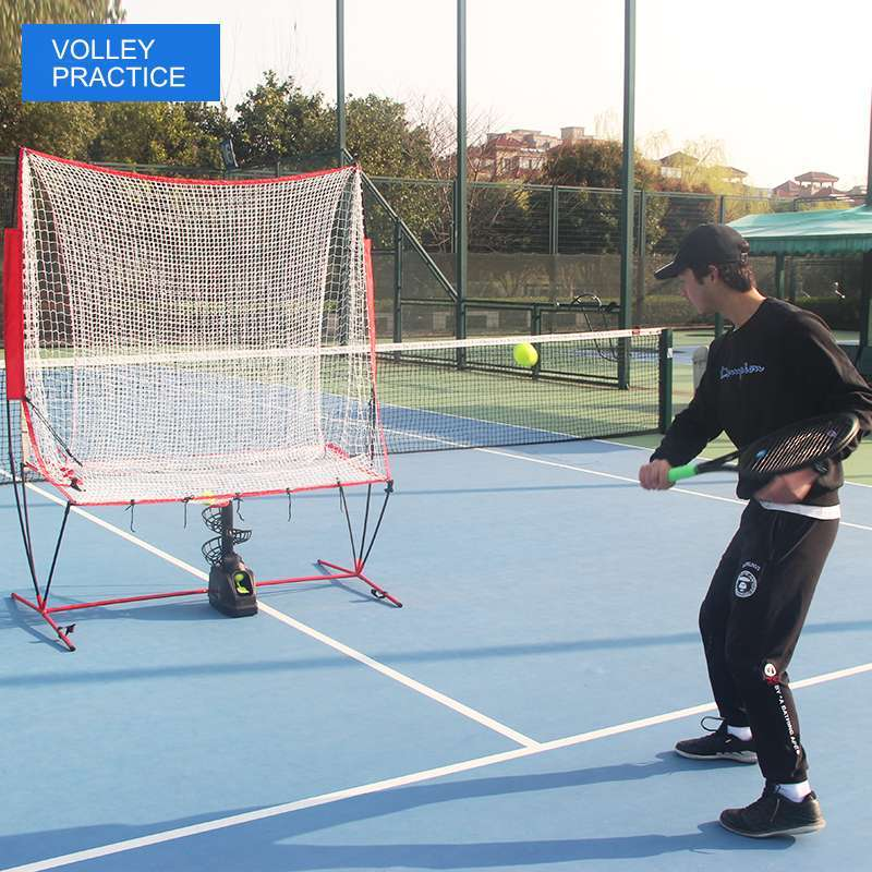 Tennis Tossing Machine with Catching Net