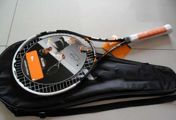 YouTek IG Speed Pro new 100 L5 carbon tennis rackets Djokovic Racket string and Including bag
