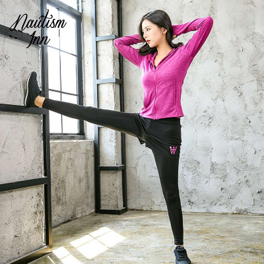 5 Pcs Sport Wear Women Gym Fitness Clothing Tennis Sport Suit Breathable Tracksuit Workout Running Clothes 1