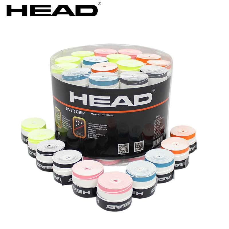 Head Tennis Racket double color Overgrip Anti skid Sweat Absorbed Soft Wrap Taps Tenis Racquet Dry