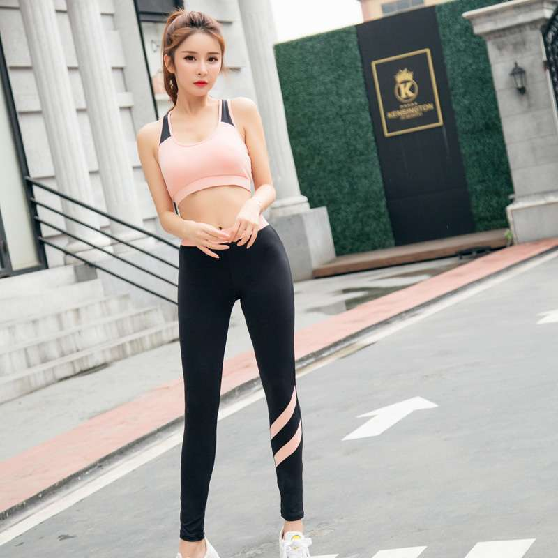 New Yoga Suits Women Gym Clothes Fitness Running Tracksuit Sports Bra Sport Leggings Yoga Shorts Top 4