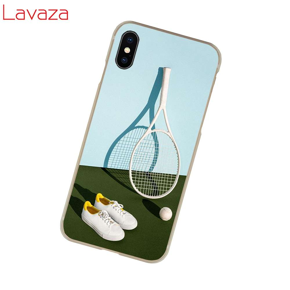 TENNIS RACKET SHOES WHITE BALL IPHONE CASES