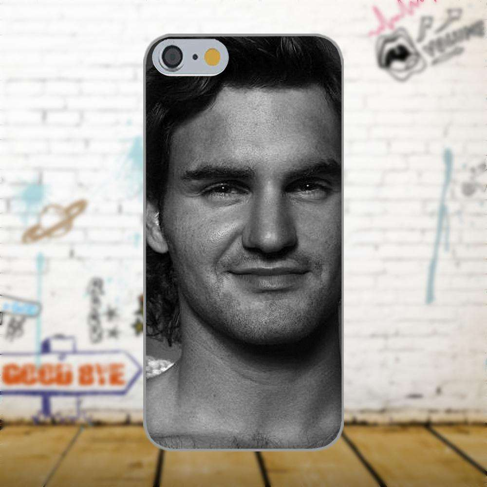 Oedmeb Tennis Star Roger Federer Poster For Apple iPhone 4 4S 5 5C 5S SE 6 as picture 7