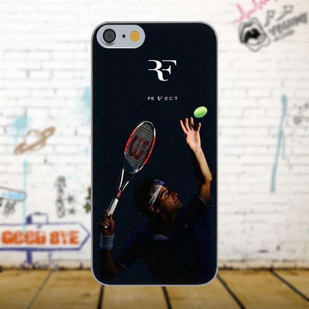 Oedmeb Tennis Star Roger Federer Poster For Apple iPhone 4 4S 5 5C 5S SE 6 as picture 9