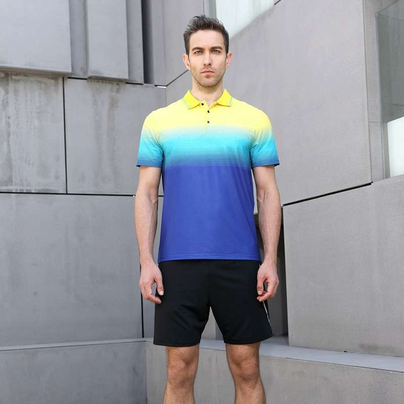 2018 New High Quality Running Sport Outdoor Quick Dry Train Breathable Badminton Shirt Women Men Table 1