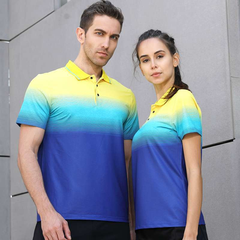 2018 New High Quality Running Sport Outdoor Quick Dry Train Breathable Badminton Shirt Women Men Table