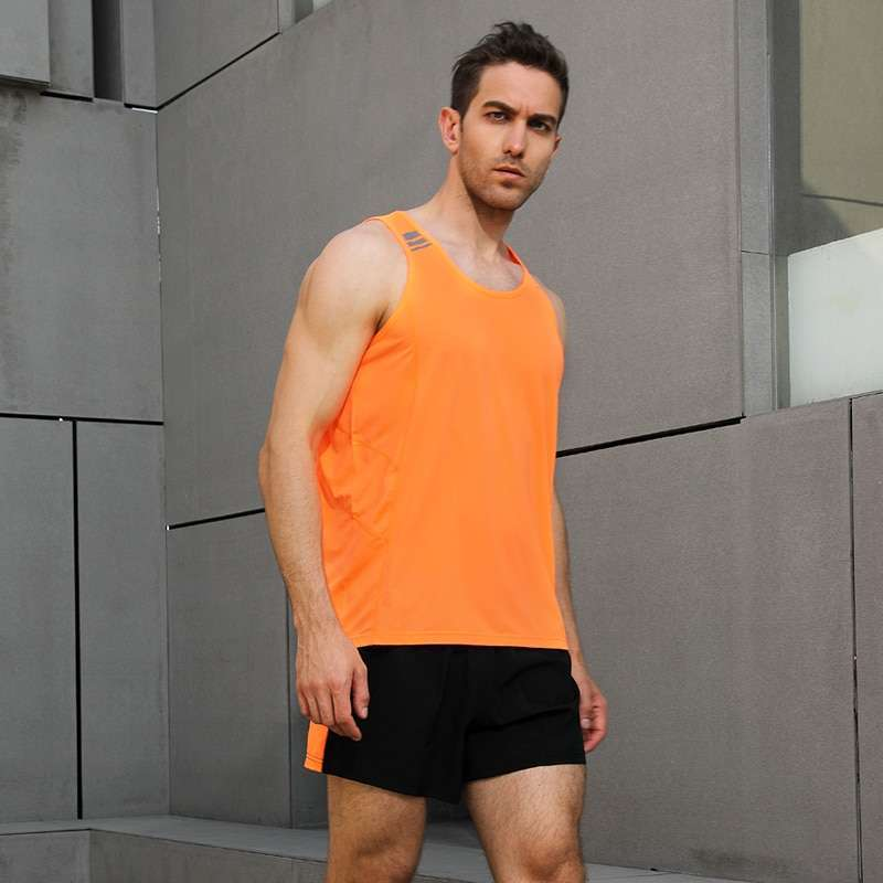 Men Sleeveless Sports Suit Running Vest and Shorts Jogging Fitness Tracksuit Quick drying Compression XS 3XL 4 1