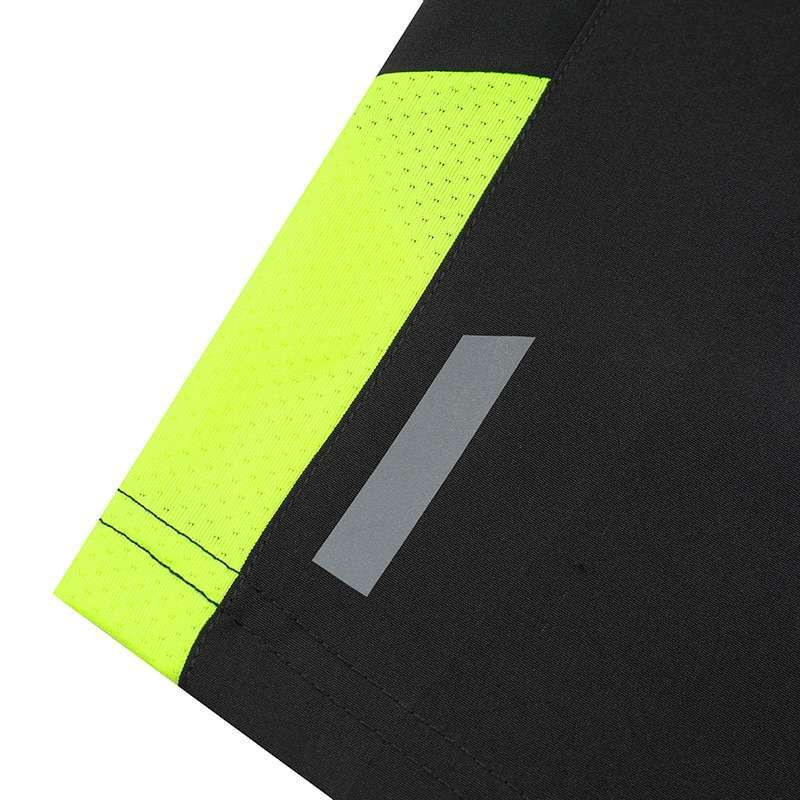 Men Sleeveless Sports Suit Running Vest and Shorts Jogging Fitness Tracksuit Quick drying Compression XS 3XL 5