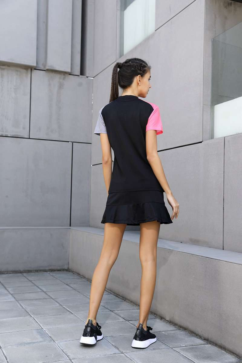New High Quality Running Sport Outdoor Sweat Quick Dry Comfortable Breathable Badminton Shirt Women Men Table 3