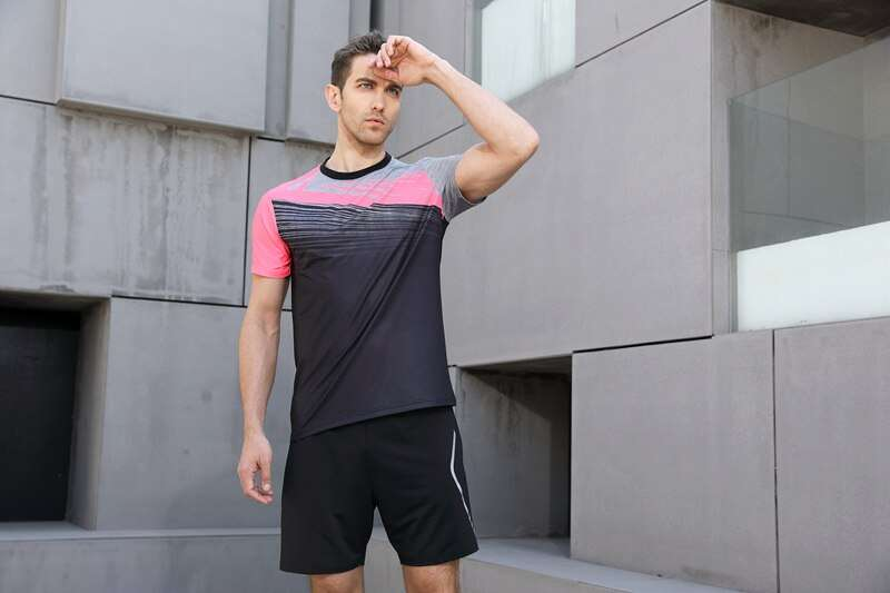 New High Quality Running Sport Outdoor Sweat Quick Dry Comfortable Breathable Badminton Shirt Women Men Table 4