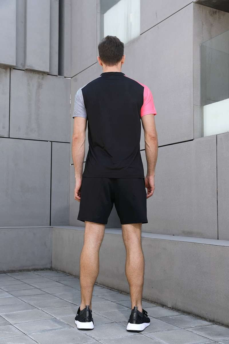 New High Quality Running Sport Outdoor Sweat Quick Dry Comfortable Breathable Badminton Shirt Women Men Table 5