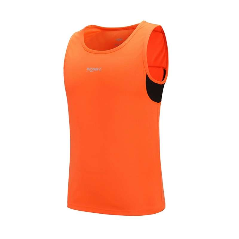 New Quickly Dry Mens Running Shirts Compression Tights Gym Tank Top Fitness Sleeveless T shirts Sport 2
