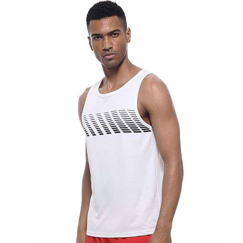 Quick Dry Sports Fitness Running Tank Tops Men Summer Vest Fitness Sleeveless Undershirts Male Gym Loose 4