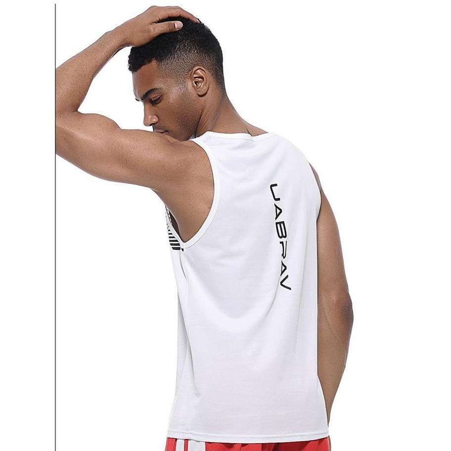Quick Dry Sports Fitness Running Tank Tops Men Summer Vest Fitness Sleeveless Undershirts Male Gym Loose 5