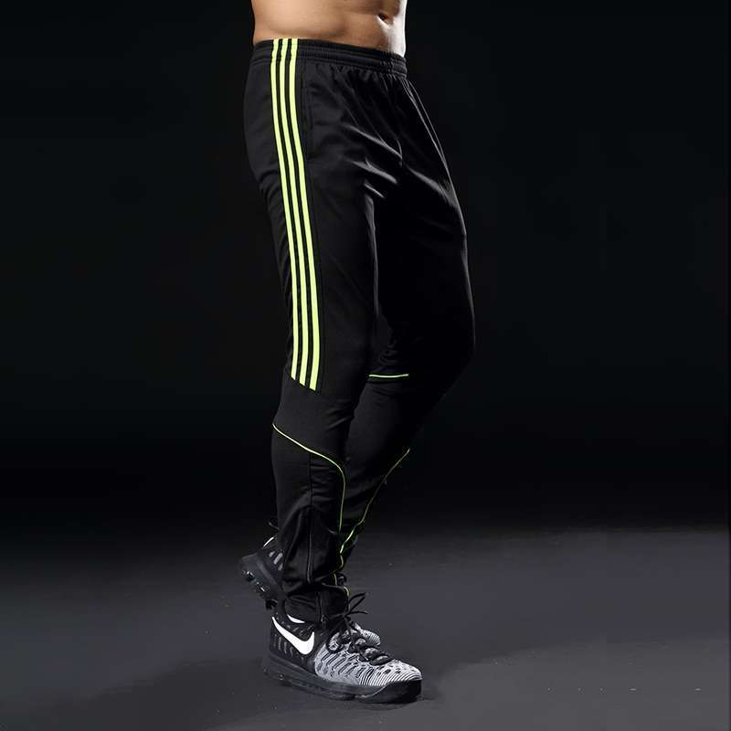Sport Running Pants Men With Pockets Athletic Football Soccer Training Pants Elasticity Legging jogging Gym Trousers 1