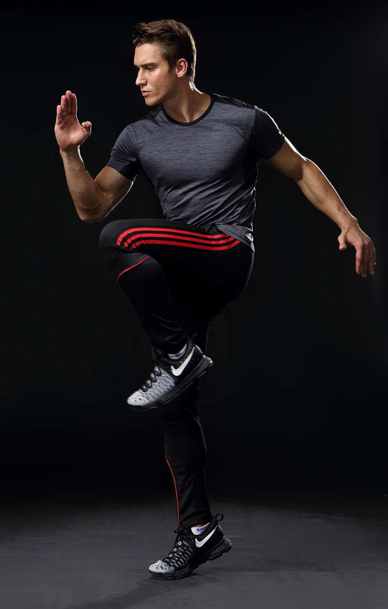 Sport Running Pants Men With Pockets Athletic Football Soccer Training Pants Elasticity Legging jogging Gym Trousers 2