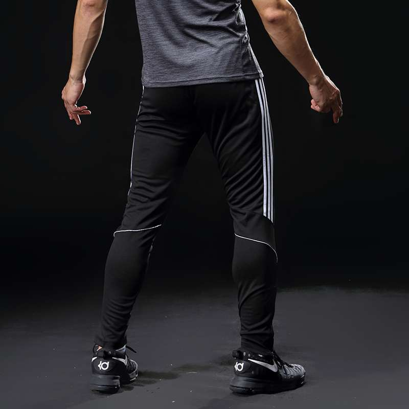 Sport Running Pants Men With Pockets Athletic Football Soccer Training Pants Elasticity Legging jogging Gym Trousers 4
