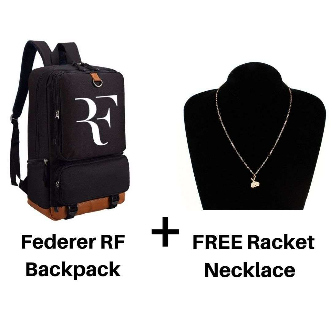 Federer Backpack with Free Racket Necklace