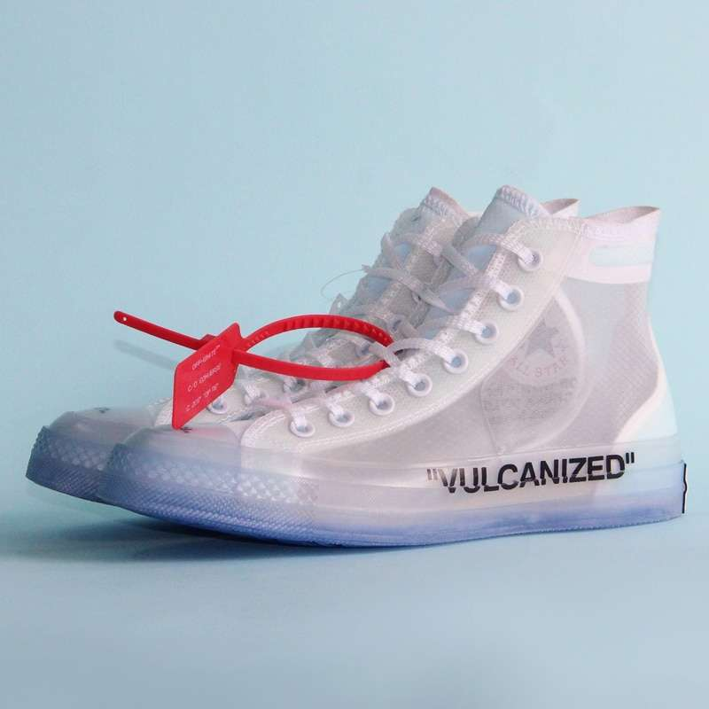 1970s Original Converse OFF WHITE lucency all star Vintage shoes men and women unisex sneakers Skateboarding 1