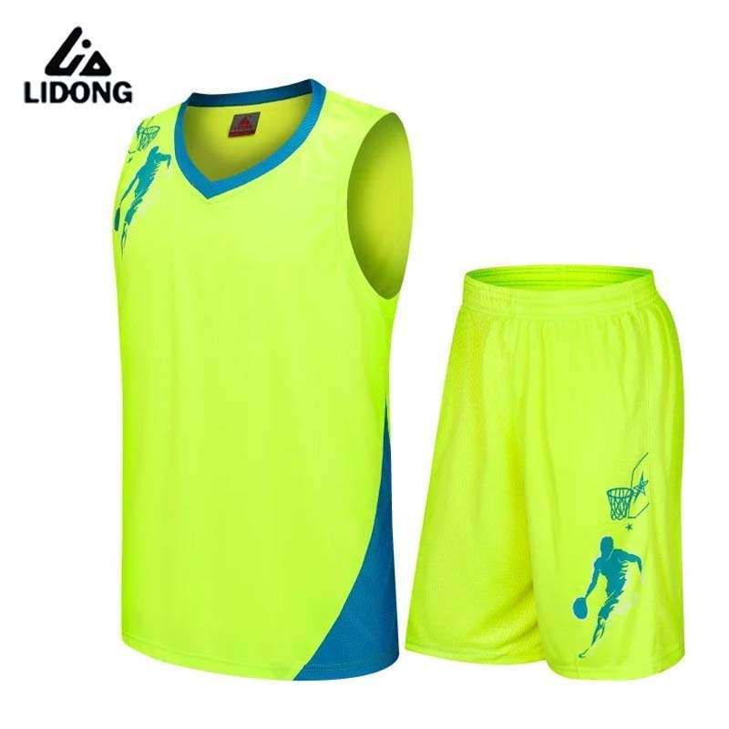 2017 Boys Girls Basketball Jerseys Clothing Set For Children Custom With Own Logo Number Polyester Big 1