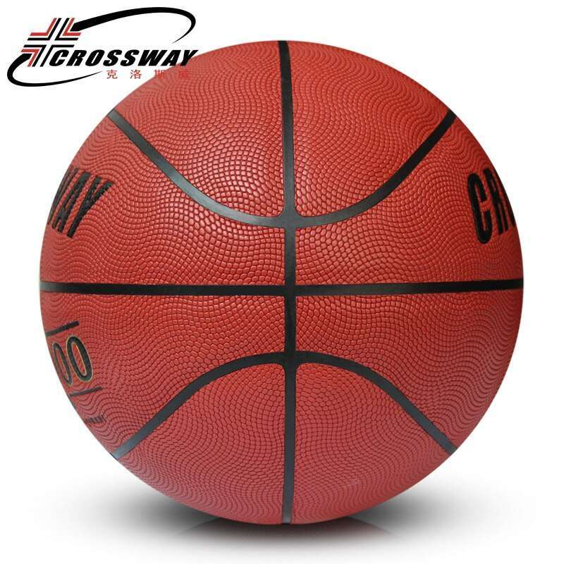 2017 CROSSWAY Brand Basketball PU Leather Official Basketball Size 7 715 indoor and outdoor basketball ball 1