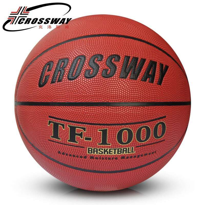 2017 CROSSWAY Brand Basketball PU Leather Official Basketball Size 7 715 indoor and outdoor basketball ball