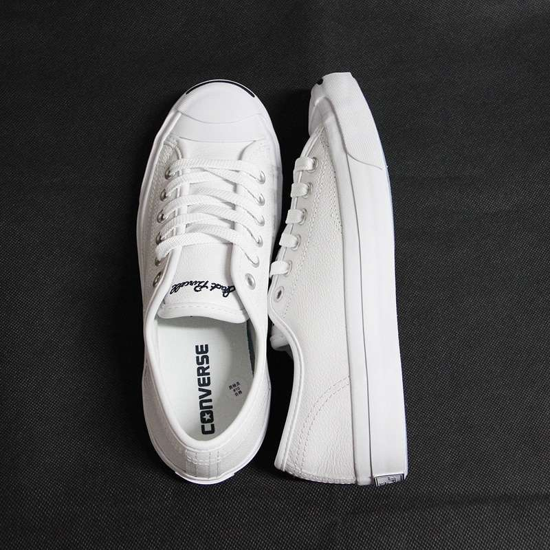 2017 new Original Converse JACK PURCELL sneakers shoes man and women Unisex PU Leather black color 4