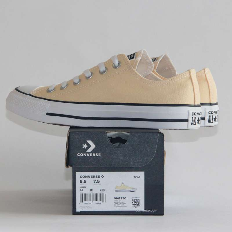 2019 NEW CONVERSE Chuck Taylor All Star shoes beige color Original man and women unisex low 1