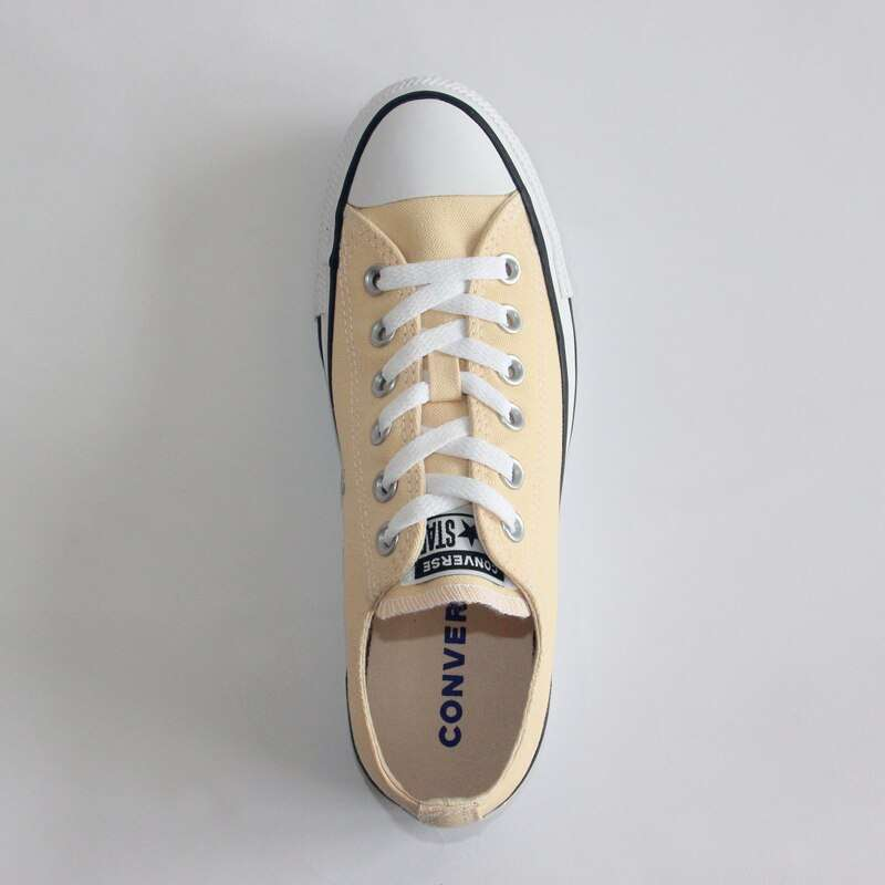 2019 NEW CONVERSE Chuck Taylor All Star shoes beige color Original man and women unisex low 3