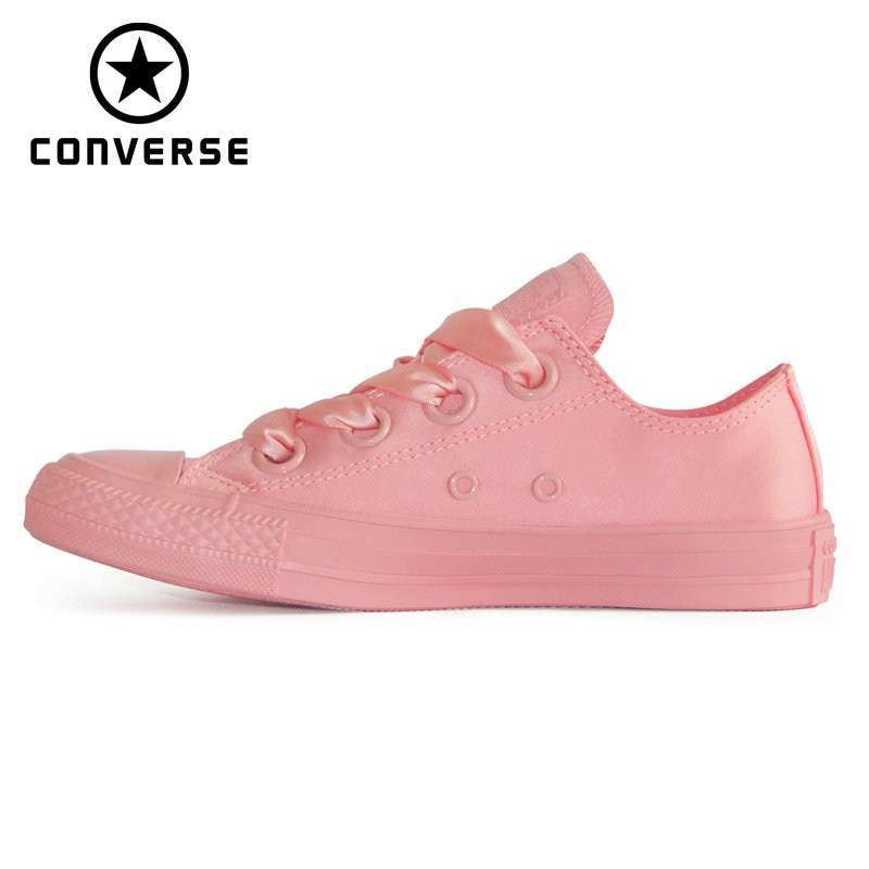 2019 NEW summer autumn CONVERSE All Star Ribbon bow style women sneakers shoes Skateboarding Shoes 564608C