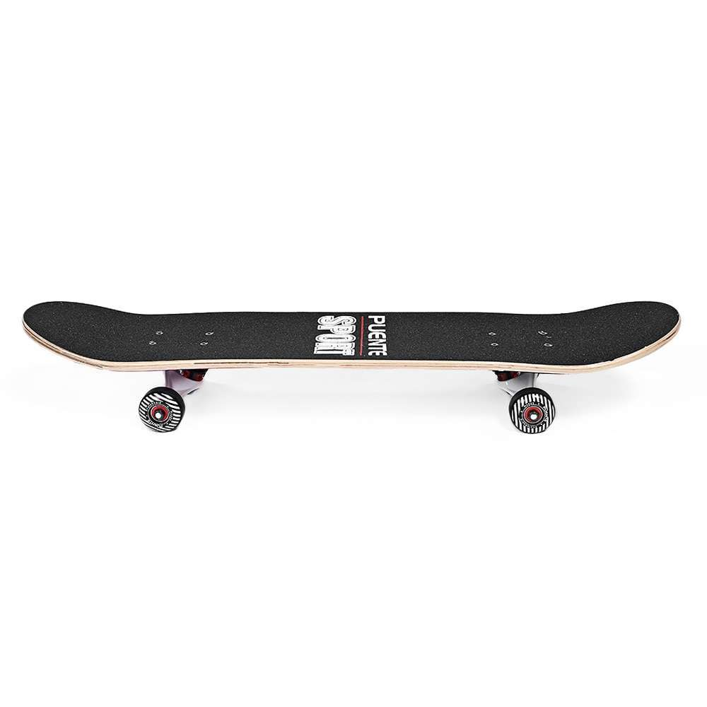 2 PUENTE 602 ABEC 9 Adult Four Wheel Skateboard Skate Board Double Snubby 7 layer Maple Long