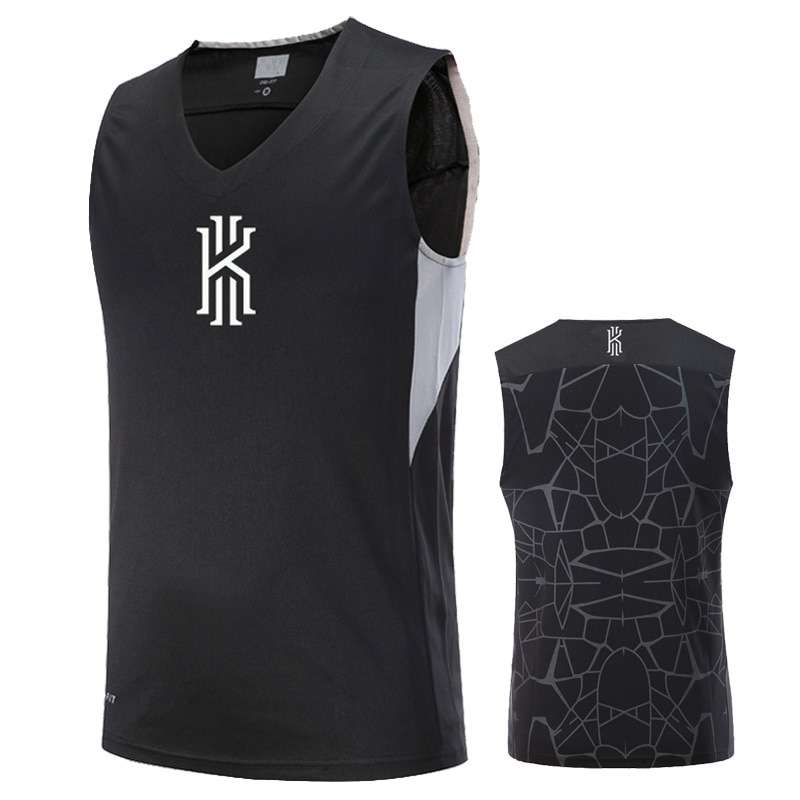 Asian Size Basketball Jerseys KI KD Curry KB Breathable Elastic Sports Training Competition Shirts 2
