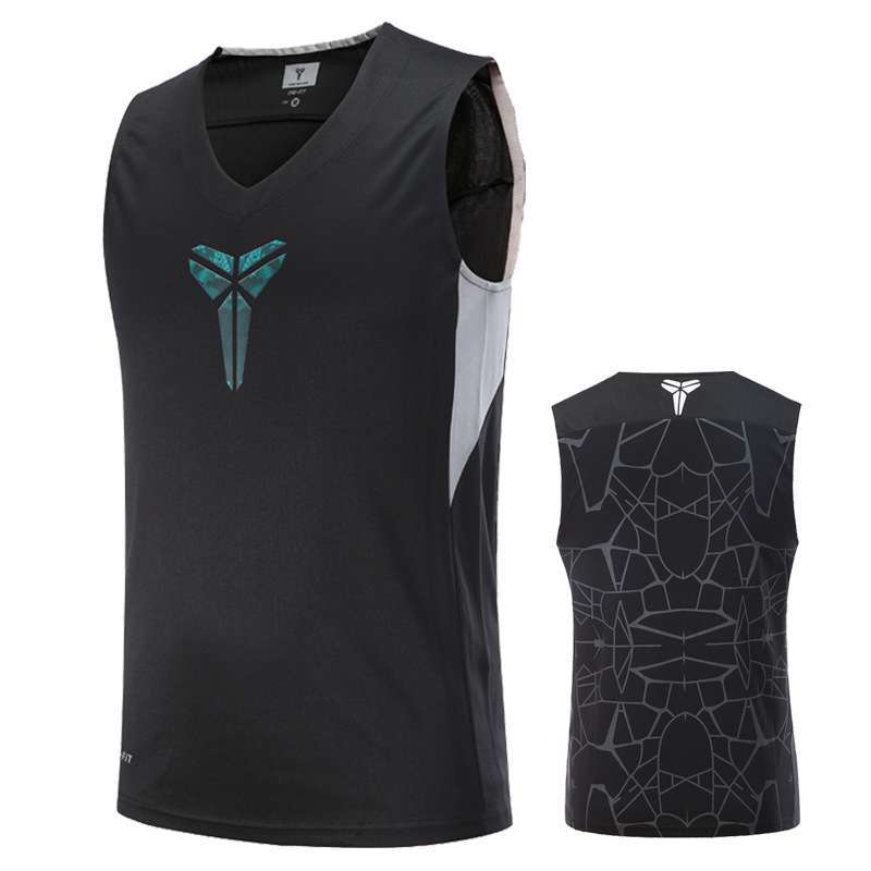Asian Size Basketball Jerseys KI KD Curry KB Breathable Elastic Sports Training Competition Shirts 3