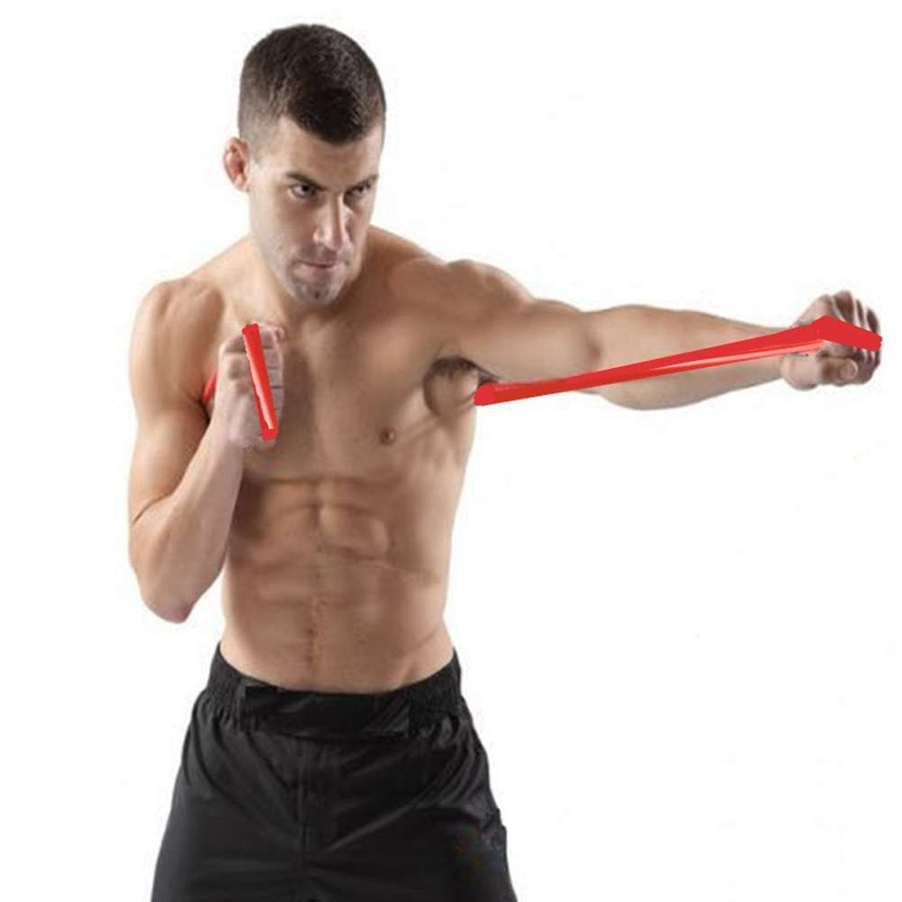 Boxing Punch speed training air MMA Sanda Boxer blow resistance rope elastic band Muay fight resistance 1