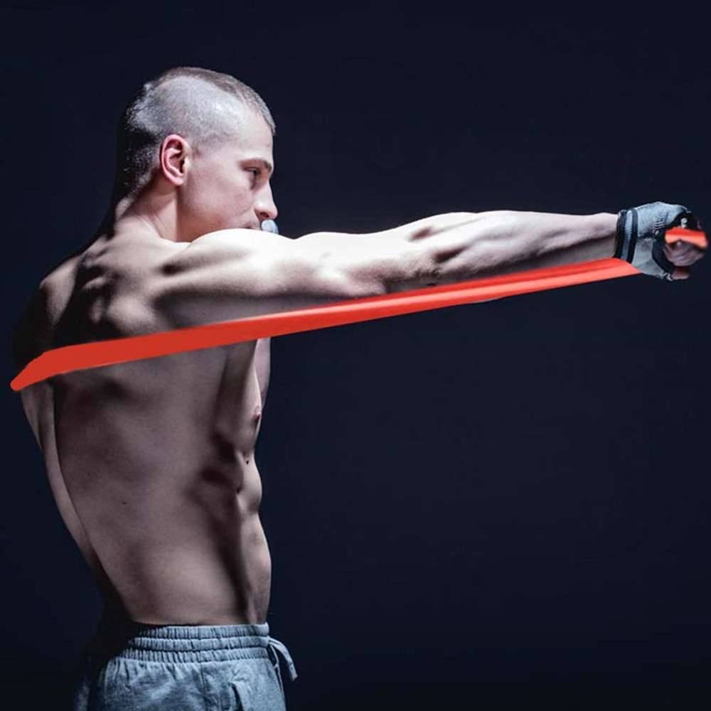 Boxing Punch speed training air MMA Sanda Boxer blow resistance rope elastic band Muay fight resistance
