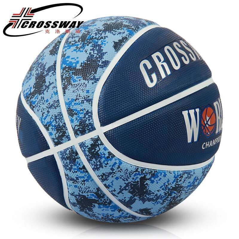 CROSSWAY 4 colors original basketball ball 71 590 High Quality import rubber Material Official Size7 Free 1