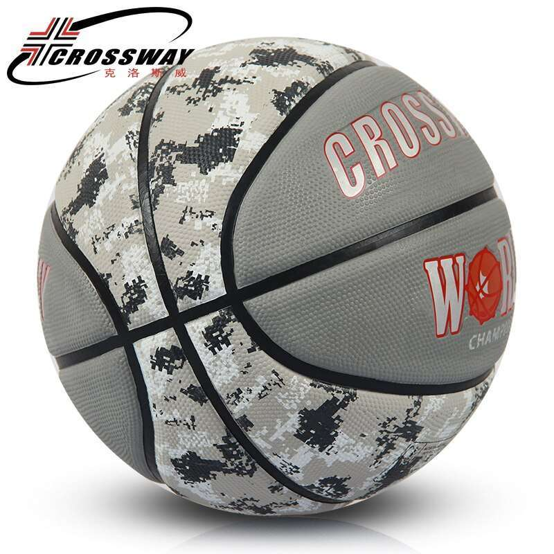CROSSWAY 4 colors original basketball ball 71 590 High Quality import rubber Material Official Size7 Free 5