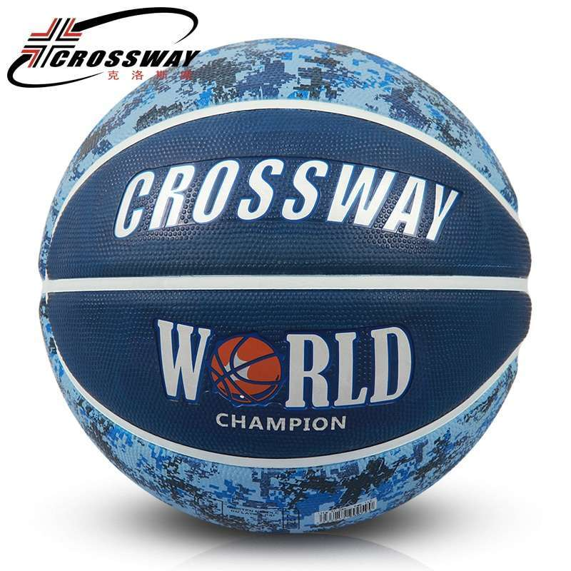 CROSSWAY 4 colors original basketball ball 71 590 High Quality import rubber Material Official Size7 Free