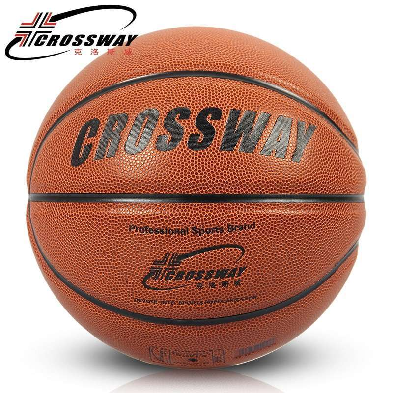 CROSSWAY New Brand Hight Quality 601 Basketball Ball ZK Microfiber Materia Official Size7 Basketball Free With 1