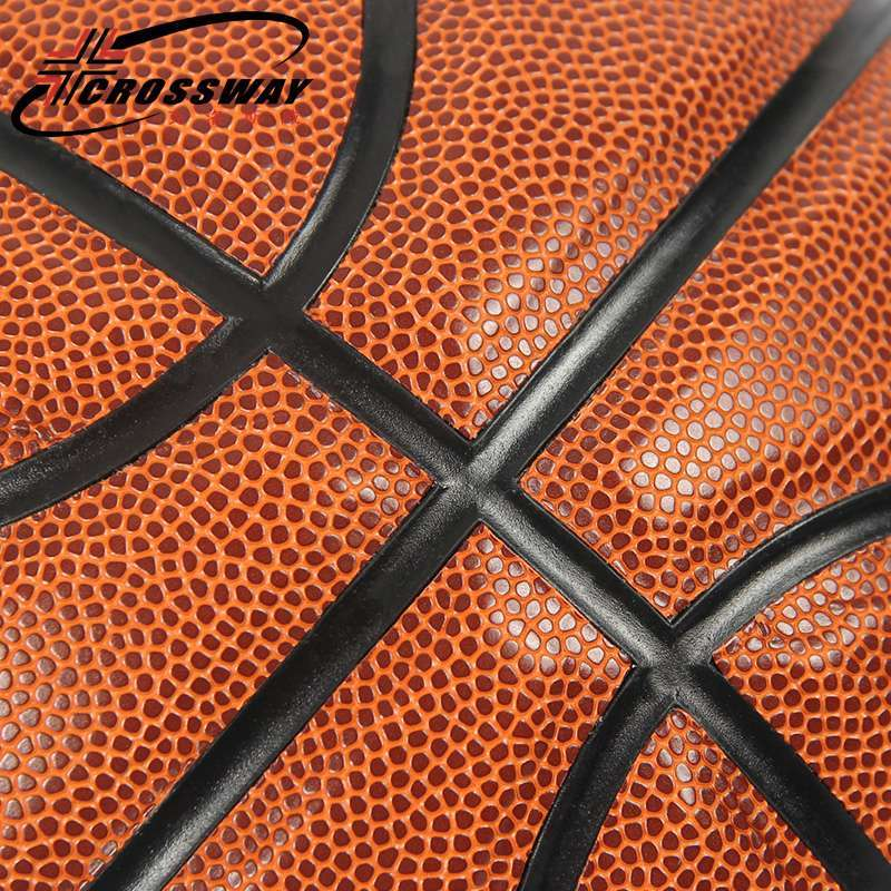 CROSSWAY New Brand Hight Quality 601 Basketball Ball ZK Microfiber Materia Official Size7 Basketball Free With 5