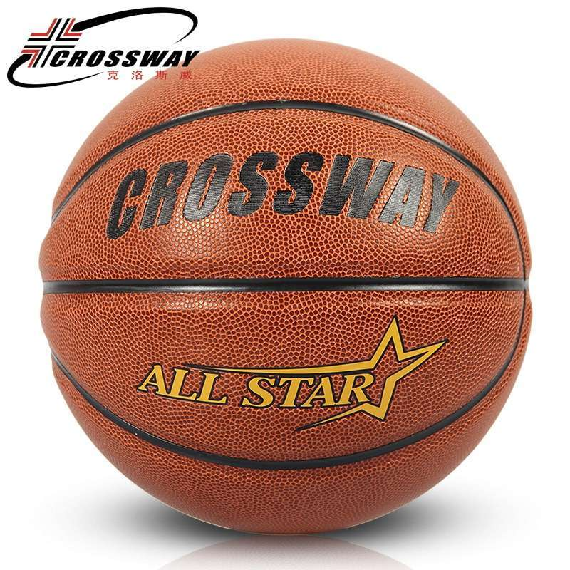 CROSSWAY New Brand Hight Quality 601 Basketball Ball ZK Microfiber Materia Official Size7 Basketball Free With