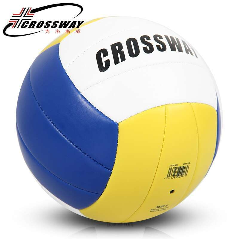 CROSSWAY Official Size 5 PU Volleyball 504 High Quality Match Volleyball ball Indoor Outdoor Training ball