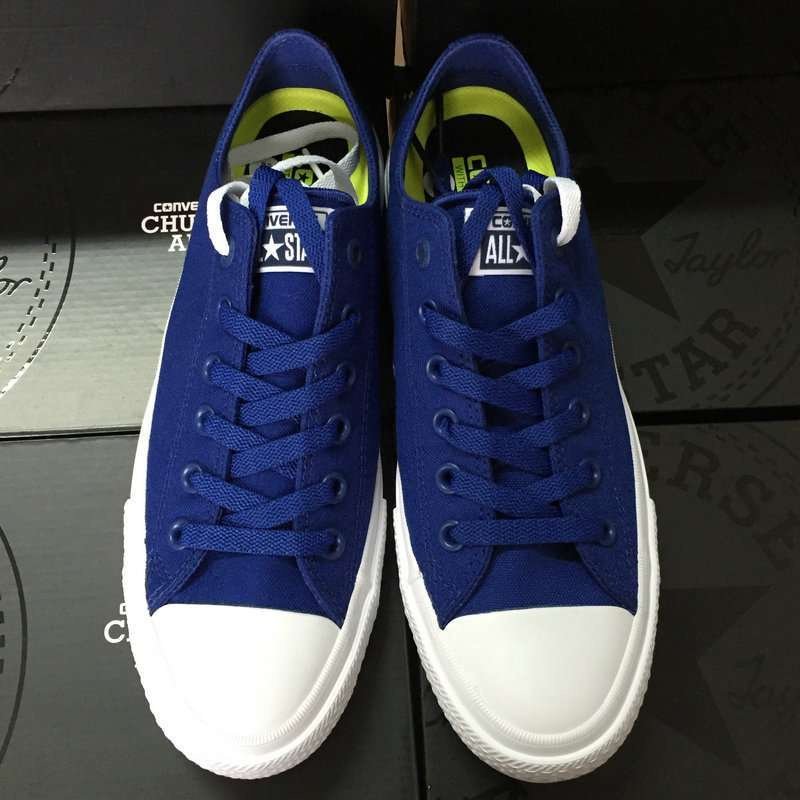 Converse Chuck Taylor II 2016 new All Star unisex low sneakers canvas shoes Classic pure color 1