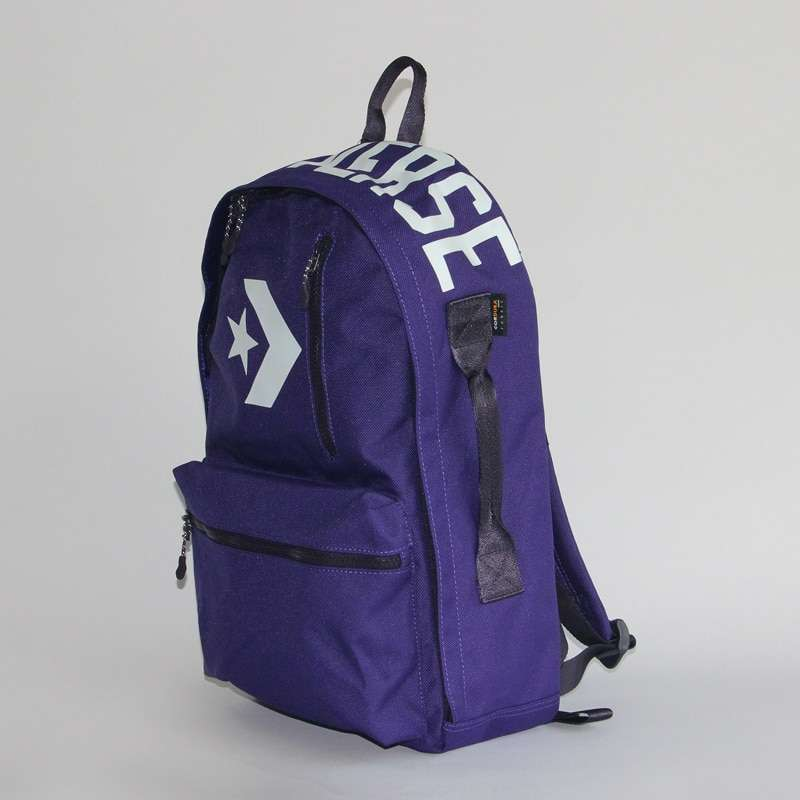 Converse original outdoor backpack On foot walking canvas bag and Mountaineering bag 10006916 7783 2