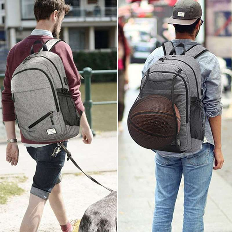 Hot Men s Sports Gym Bags Basketball Backpack School Bags For Teenager Boys Soccer Ball Pack 1