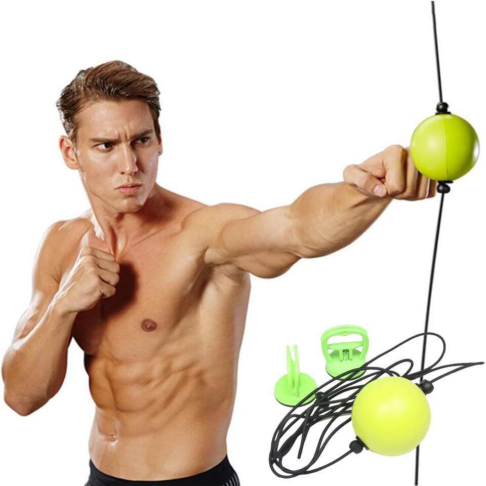 Hot sale High quality 2019 New Boxing Punch Exercise Fight Ball React Reflex Ball Portable Fitness 2