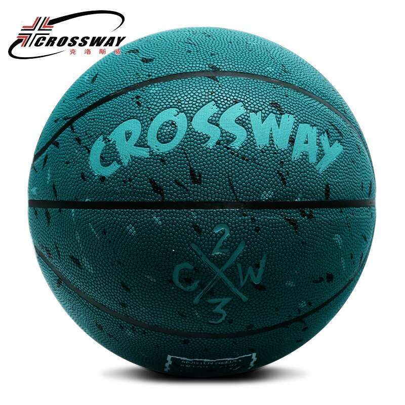 Hot sales NEW Brand Cheap CROSSWAY L702 Basketball Ball PU Materia Official Size7 Basketball Free With 4